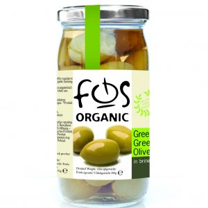 Organic Green Olives (whole)